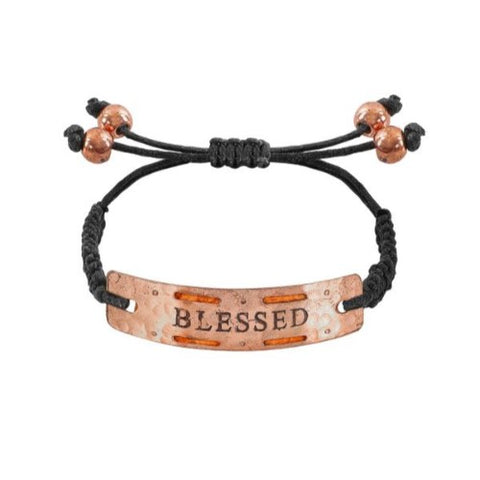 "Image of ""Blessed"" - Mini Aromatherapy Bracelet"