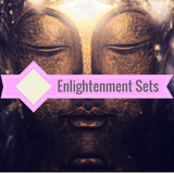 "Enlightenment Package - 10"" Crystal Singing Bowl & Alexia Meditation Seat"