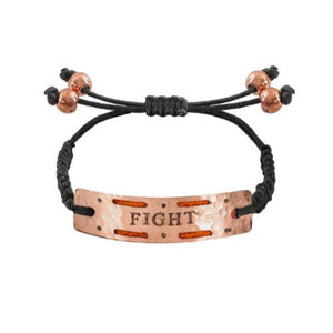 """Fight"" - Mini Aromatherapy Bracelet"