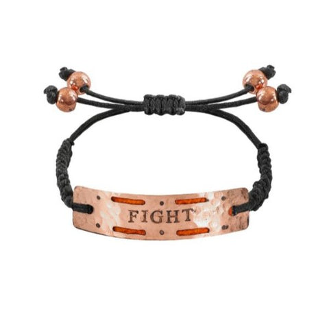 "Image of ""Fight"" - Mini Aromatherapy Bracelet"