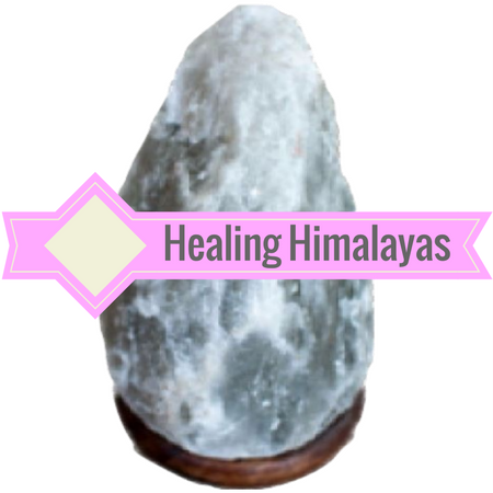 Gray Himalayan Salt Lamps - 7-10 Pound Lamps