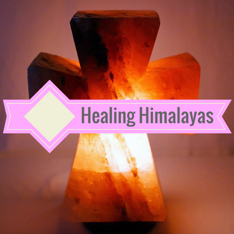 Himalayan Salt Cross Lamp