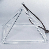 Quartz Crystal Singing Pyramid - 10""