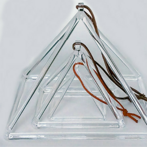 Quartz Crystal Singing Pyramid - 8