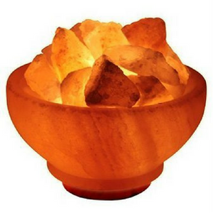 Himalayan Salt Bowl Lamps