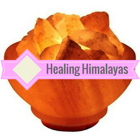 Image of Healing Himalayas pink Himalayan salt lamps. Energize your environment using the negative ionizing properties of pink himalayan salt.