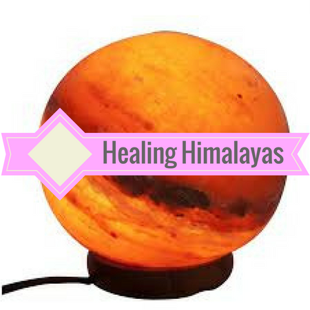 Healing Himalayas pink Himalayan salt lamps. Energize your environment using the negative ionizing properties of pink himalayan salt.