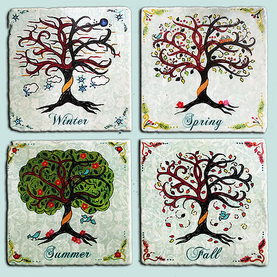 Seasons Coaster Set