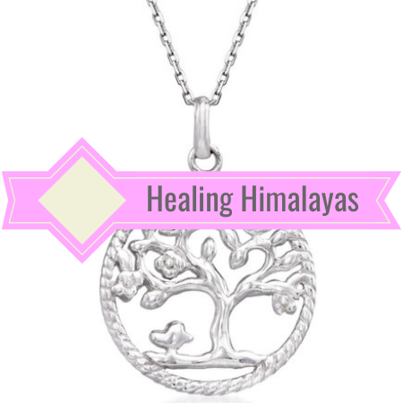 Image of Tree Of Life Pendant and Chain - Silver