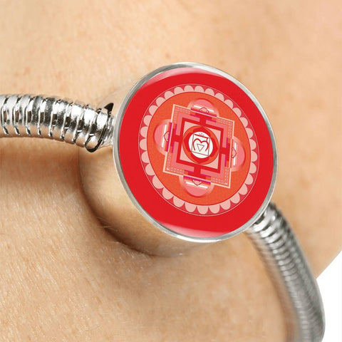 Image of Root (First) Chakra Charm & Bracelet