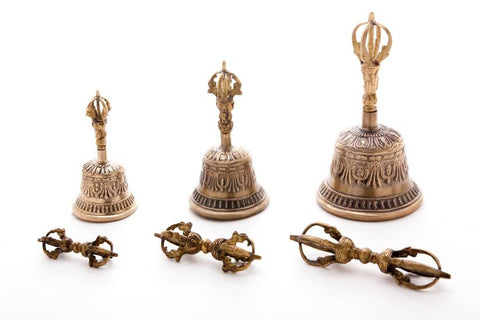 Authentic Ghanta-Dorje Set