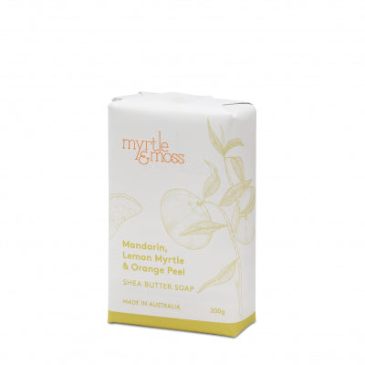 Myrtle and Moss Shea Butter Soap
