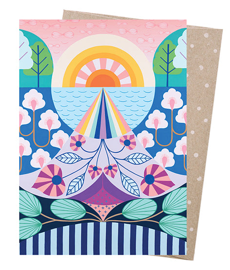Earth Greetings Claire Ishino Look To The Light Card