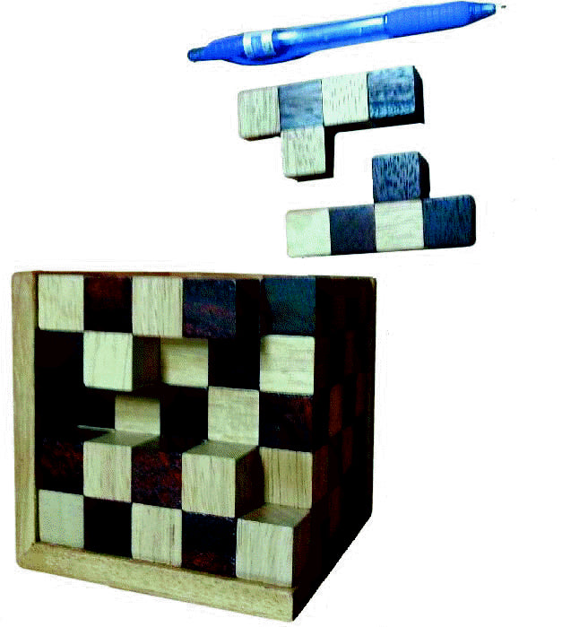 Timber Game - Cube Puzzle