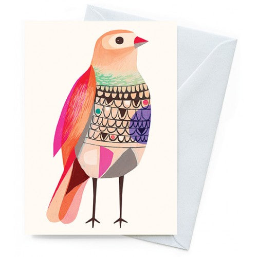 Earth Greetings Inaluxe Beautiful Firetail Card