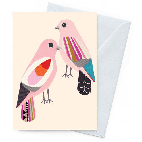 Earth Greetings Inaluxe Happiness Doves Card