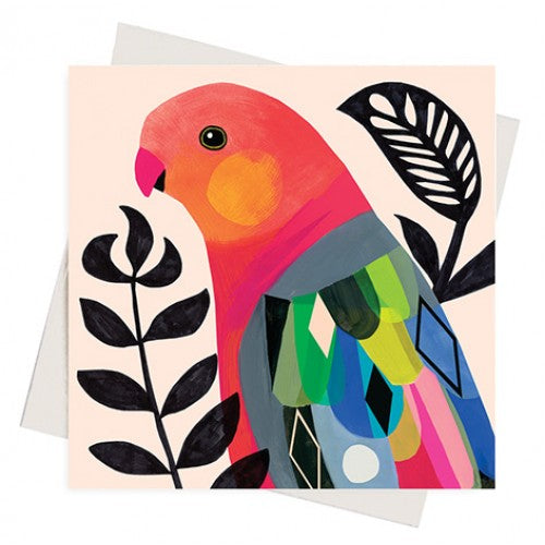 Earth Greetings Inaluxe King Parrot Gift Card
