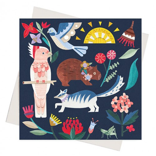 Earth Greetings Andrea Smith Wild Natives Gift Card