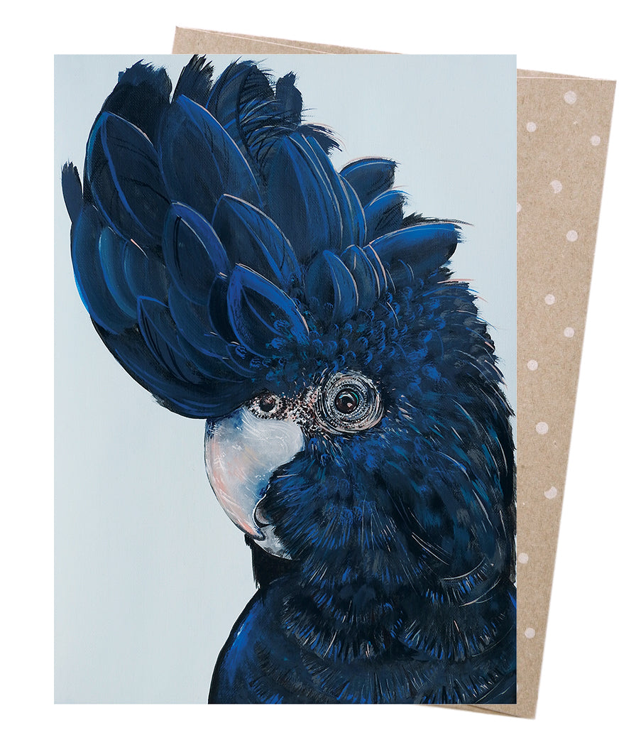 Earth Greetings Vixen Designs Black Cocky Henry Card