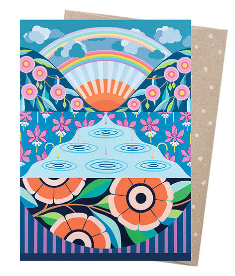 Earth Greetings Claire Ishino Look For Rainbows Card