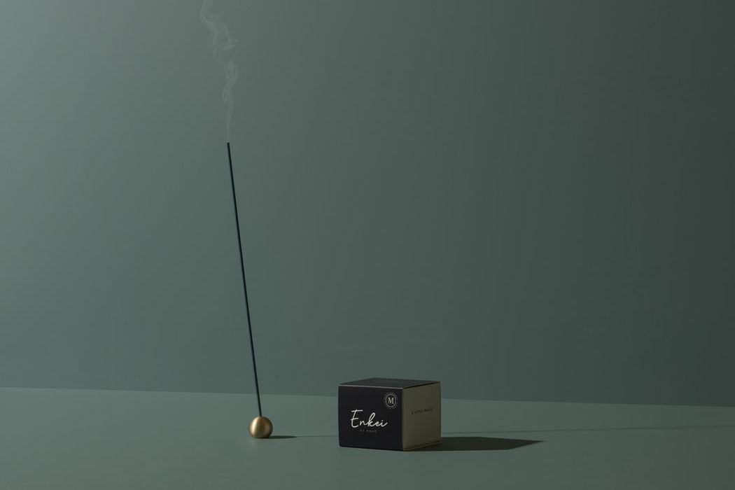 MAHŌ Sensory Enkai Brass Incense Holder