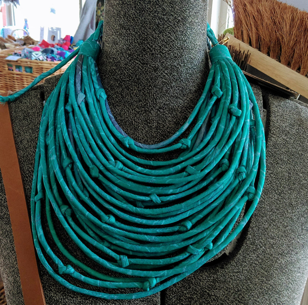 House of Wandering Silk Knotted Neckpiece