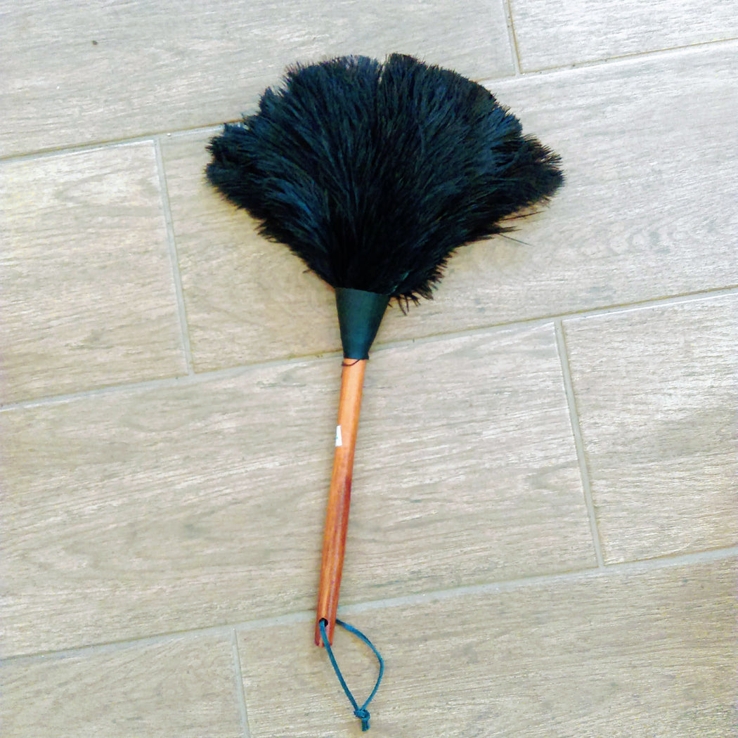 Two Tone Feather Duster with Timber Handle