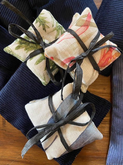 Pair of Linen Hand Warmers