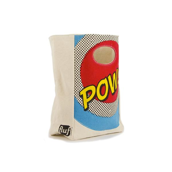 "Fluf ""POW"" Lunch Bag"