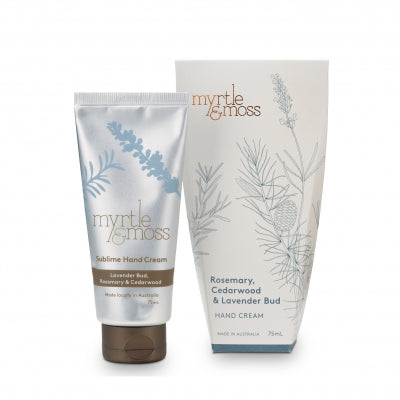Myrtle and Moss Sublime Hand Cream