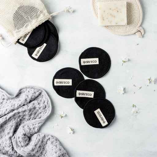 Ever Eco Black Reusable Makeup Remover Pads