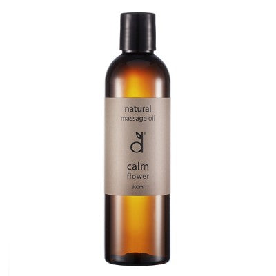 Dindi Naturals Natural Calm Flower Massage Oil