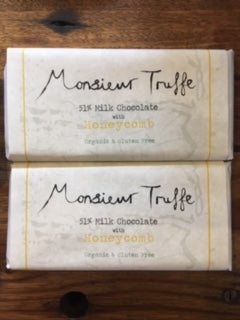 Monsieur Truffe 51% Milk with Honeycomb