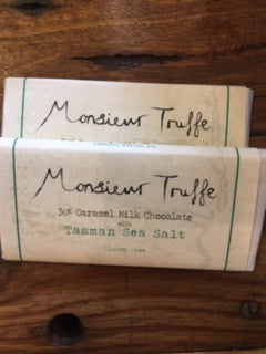 Monsieur Truffe 36% Milk Chocolate Caramel Sea Salt