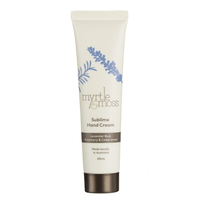 Myrtle and Moss Sublime Mini Hand Cream 30ml
