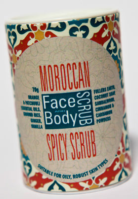 Moroccan Spicy Face & Body Scrub