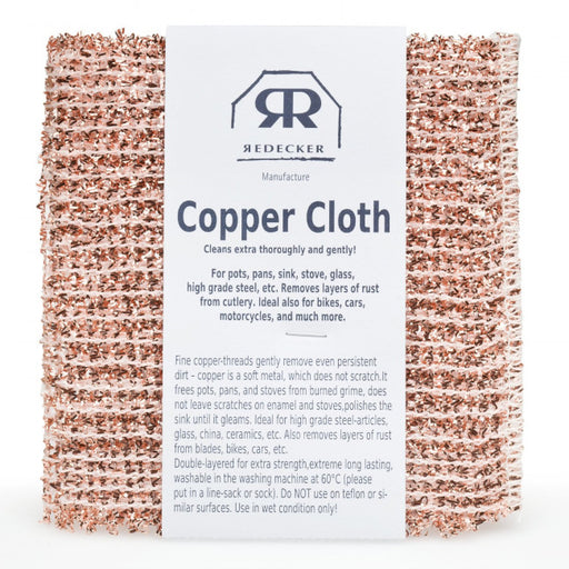 Redecker Copper Cloth Set of 2