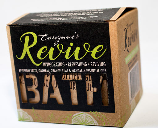 Corrynne's Mineral Bath Salts - Revive