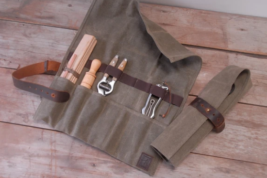 Waxed Canvas Utility Roll