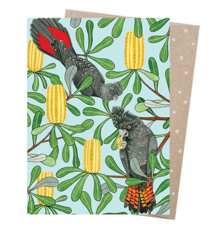 Earth Greetings Negin Maddock Banksia Bouquet Card