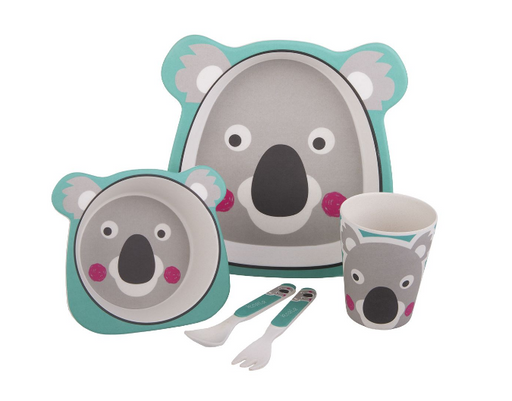 Bambeco 5 piece Kids Meal Set & Cutlery