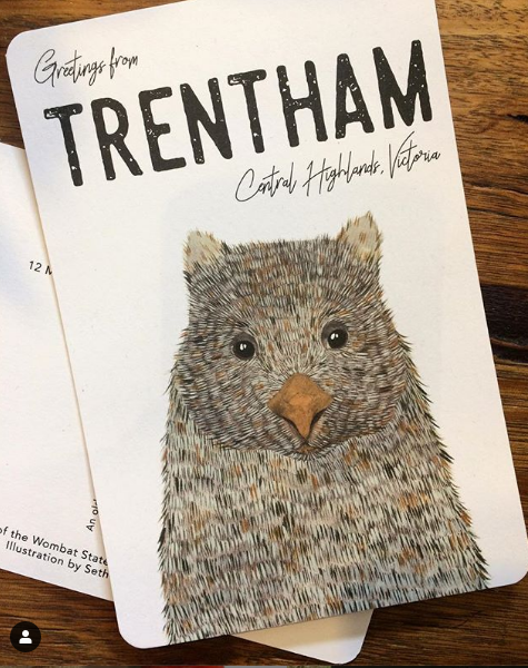 Limited Edition Trentham Postcard