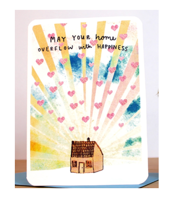 Laura Skilbeck Home Happiness Card