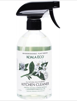 Koala Eco All Natural Kitchen Cleaner Lemon Myrtle and Mandarin