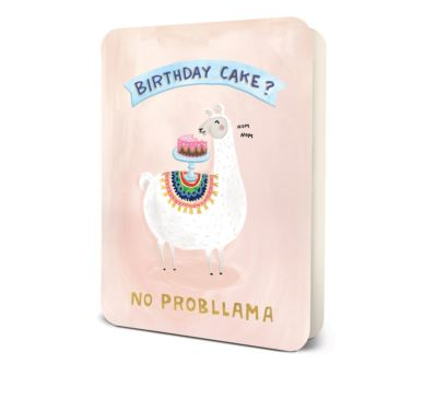 Studio Oh No Probllama Birthday Card