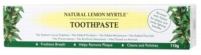 Natural Lemon Myrtle Toothpaste