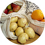 Certified Organic Set of Four Produce Bags