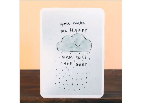 Laura Skilbeck Skies Are Grey Card
