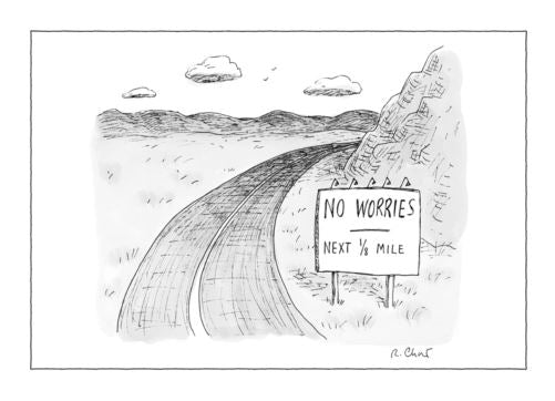 The New Yorker No Worries Card