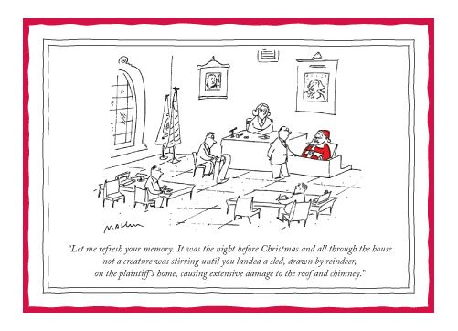 The New Yorker The Night Before Card